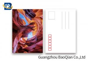 China PET Seascape Pantone Color 3D Lenticular Printing Postcards For Greeting 10.5 X 14.8cm on sale