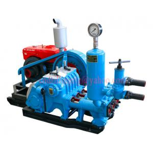 China High Pressure Triplex Single Acting  Drilling Mud Pump with Diesel / Hydraulic / Electric Power on sale