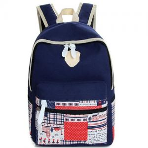 China fashion colorful canvas backpack messenger bags wholesale купить рюкзак mochilas por mayor on sale
