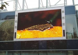 China Street Full Color LED Signs Outdoor IP65 LED Screen Advertising P20 Fireproof on sale
