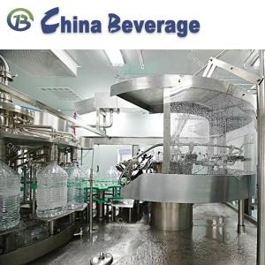 China Automatic 5 Gallon Water Bottle Filling Machine Mineral Water Barrel Monoblock Line on sale