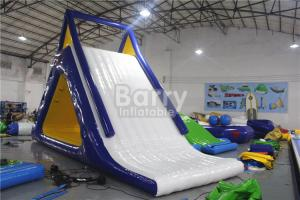 China EN14960 PVC Tarpaulin Giant Inflatable Floating Water Park / Water Game Summer on sale