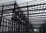 75 * 25 * 9m Metal Frame Workshop , Energy Saving Prefabricated Steel Structure