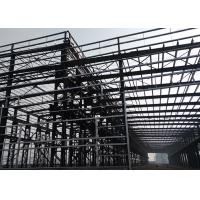 China 75 * 25 * 9m Metal Frame Workshop , Energy Saving Prefabricated Steel Structure on sale