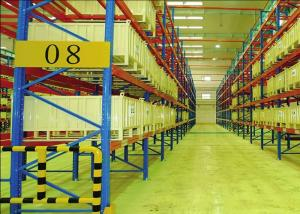 China Adjustable Industrial Storage Racks Heavy Duty Pallet Shelving Vertical Type on sale