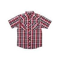 Nice - look short sleeve plaid shirts, short sleeve plaid shirts, children polo shirts
