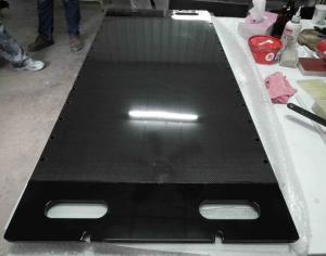 China Custom Medical device carbon fiber plate for X-ray carbon fiber X-ray lying sheet on sale