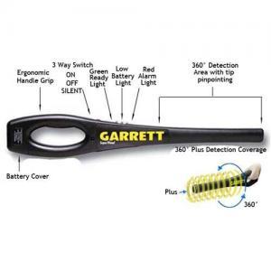 China Garrett Superwand Handheld metal detectors on sale