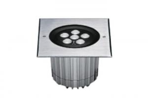 China FC2BFR0657 FC2BFS0657 6 * 2W Asymmetrical LED Inground Light with 173 * 173mm SUS316 Stainless Steel Square Front Cover on sale