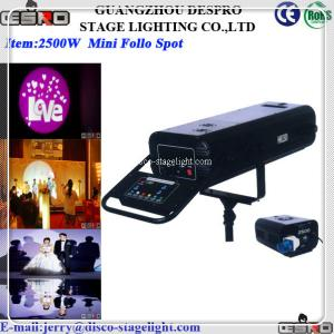 China Event 1200W 2500W Power Follow Spot Stage light  Equipment on sale