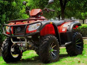China Roue rouge de HONDA 4 ATV 500CC avec la CEE, quatre quadruple des roues ATV on sale