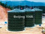 Windproof Biogas Digester Tank Corrosion Resistance Low Maintenance Cost