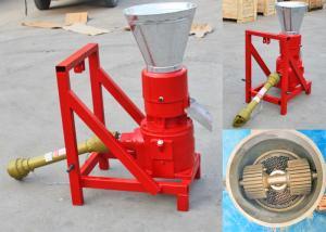 China PTO Flat Die Pellet Making Machine , Tractor Driven Pellet Press Mill Machine on sale