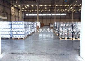 China Industrial / Custom Pre Engineered Metal Building Homes Sound Insulation on sale