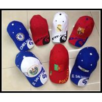 China Promotional Custom 100% cotton Embroidery logo Baseball Cap /Sports Caps on sale