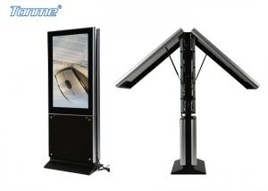 China 55  Wireless Network LCD Digital Signage Double Screens for Hotels / Restaurants Advertising on sale
