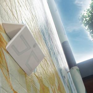China ABS Material IP65 Olar Exterior Wall Lights 6000K LED Motion Sensor 3000mAh Battery on sale