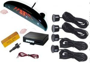 China Wireless Car Reverse Parking Sensor With Camera , 4 Sensors With Lcd Display on sale