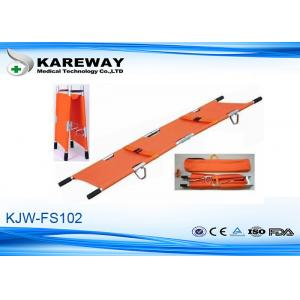 China Waterproof Double Fold Stretcher Manual Operation , Easy Storage And Transportation on sale