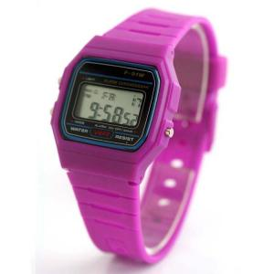 China Pink lady G Shock Electronic Sports Watch With Liquid Crystal Display on sale