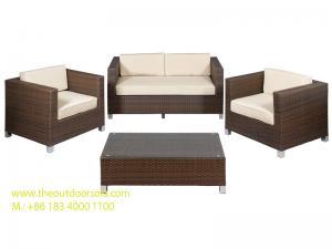 China Outdoor Wicker Furniture, Rattan Garden Furniture, Living Room Sofa Set, Rattan Sofa Chair on sale