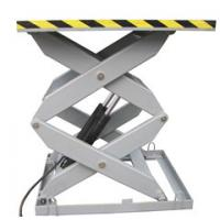 China 1.5M 5000Kg Heavy Duty Electrical Aerial Stationary Scissor Lift for Painting / Cleaning on sale