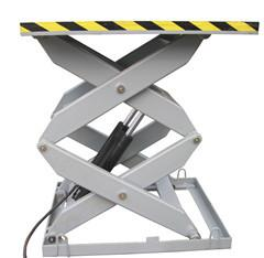 China Heavy Duty Electrical Aerial Stationary Scissor Lift for Painting / Cleaning , 5000Kg on sale