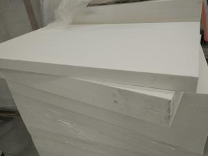 China High Alumina Insulation Ceramic Board for Glass Tempering Furnace on sale