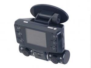 China 30 fps 3.0のMegapixel HD動き検出を用いるデュアル・チャネル車のカメラDVRのレコーダー on sale