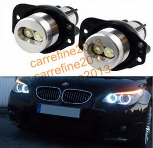 China E90 6W LED Marker Angel Eyes Kit Xenon White high power LED halo rings E90 E91 for BMW on sale