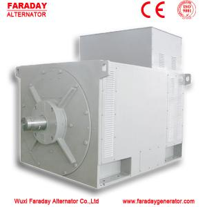 China High voltage brushless alternator 400KW-3000KW AC alternator for generator on sale