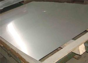 China Duplex Stainless Steel 310 Plate / 10mm Thick Polished Stainless Sheet on sale