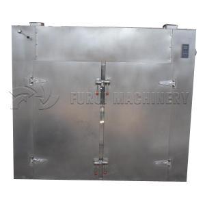 China 304 Ss Industrial Fruit Dehydrator Machine Mushroom Herb Dryer 2 Sets Trolleys on sale