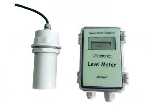 China Oil / Water Tank Ultrasonic Level Meter , Ultrasonic Water Level Meter on sale