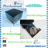 China Tray Loading USB3.0 External Blu-ray DVDRW/ DVD Burner Drive UJ260 UJ240(White/Black) on sale