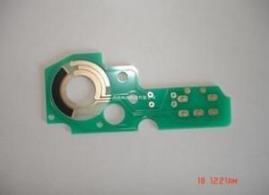 China 0.2mm-6.00 mm(8mil-126mil) Board Thickness, FR4, Taconic, Rogers Double Sided PCB High Resistance Carbon PCB on sale