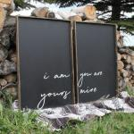 Blackboard Vintage Wood Signs With Quotes Home Decor Easy Maintenance