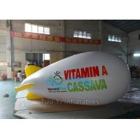 High Strength Modern Zeppelin Airship Inflatable Advertising Blimps
