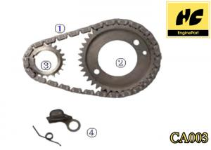 China Replacement Automobile Engine Parts Timing Chain Kit For Cadillac 4.1(252) V6 80-84 CA003 on sale
