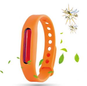 China Korean summer ultrasonic bug killer plant essential oil insect repellent bracelet on sale