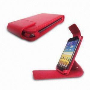 China Cases for Samsung Galaxy Note, i9220 Case, Good Function for You, Made of Leather Material on sale