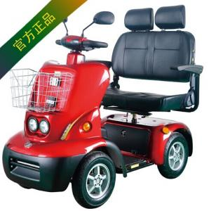 China 4 wheel eletric scooter with 2 seats on sale