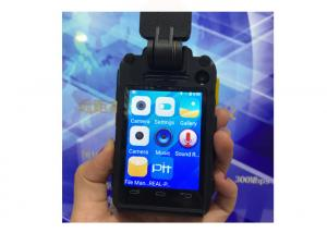 China Android5.1 4G  WIFI  Bluetooth GPS  Police Body Worn Camera 140 Degree Wide Angle With 3600 Mah Battery on sale