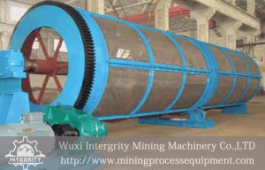 China Drum Dewatering Vibrating Screen Classification , Rotary Trommel Screen on sale