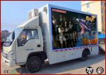 Camiones móviles del juego, camión móvil del juego 7D para el parque de atracciones