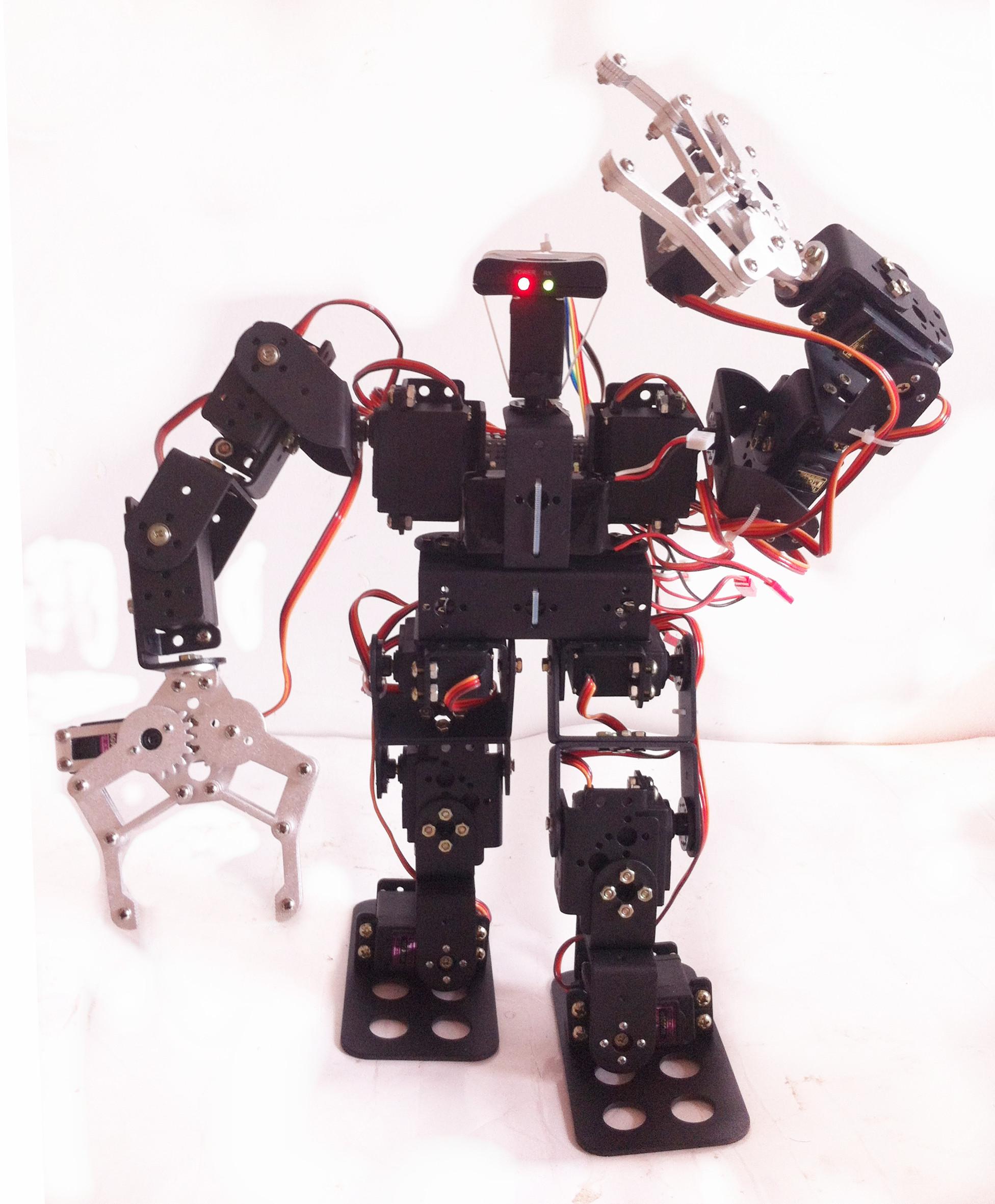 Робот на сервоприводах своими руками