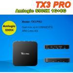 TX3 PRO Android 6.0 Amlogic S905X Quad Core 64Bit wifi tv smart box VP9 HDR 4K KODI H.265