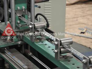 China Guide Rail Purlin Roll Forming Machine Full Automatic For Roofing Sheet on sale
