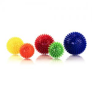 China Durable PVC Spiky Massage Ball Fitness Hands Foot Pain Relief Yoga Equipments on sale