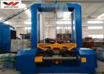 Máquina de junta del haz del control de velocidad de soldadura por puntos de VFD H automática al reborde y a la web del arreglo